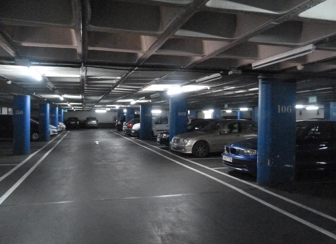 Interior aparcament Plaça Catalunya
