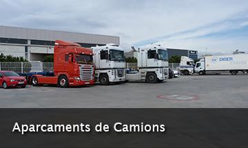 aparcaments de camions a Sant Boi